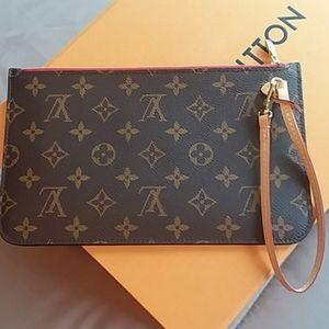 Louis Vuitton Pouch/Wristlet New